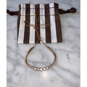 Henri Bendel Gold Slide Bracelet
